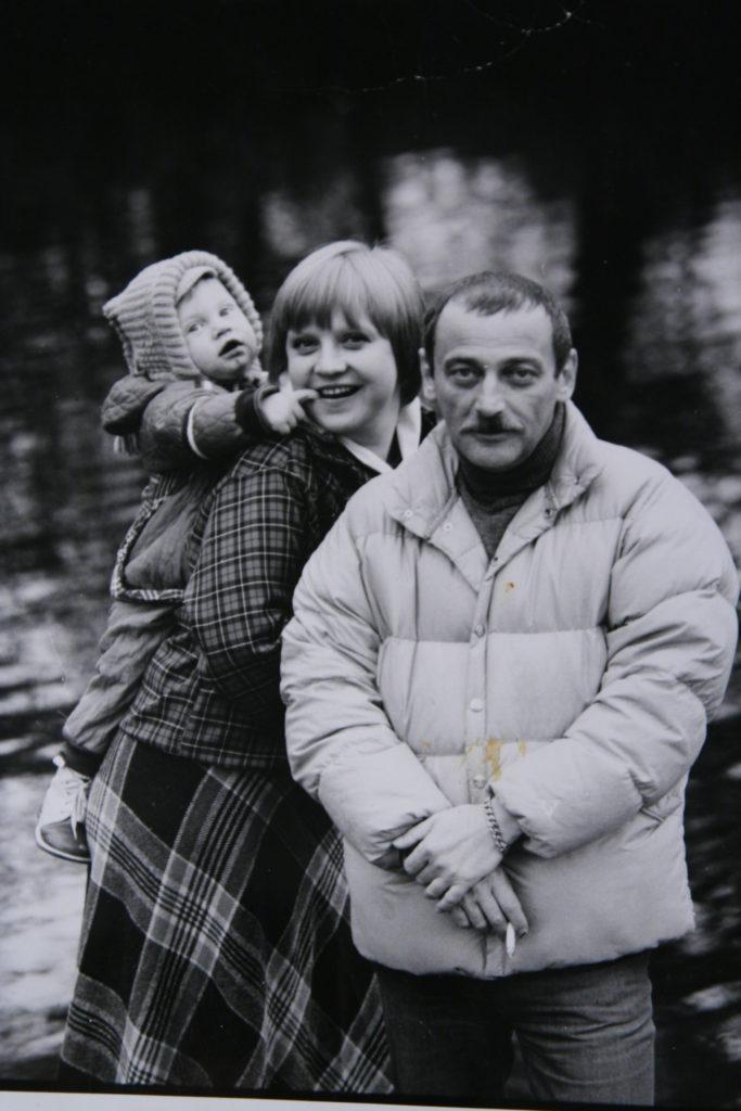Светлана Крючкова и Юрий Векслер с сыном Митей